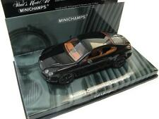Bentley Continental Supersports 2009 black 1/43 Minichamps RARE!