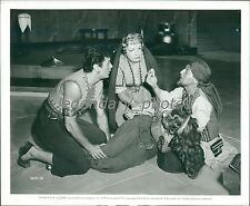 1950 Prince Who Was a Thief Original Press Photo Piper Laurie Tony Curtis