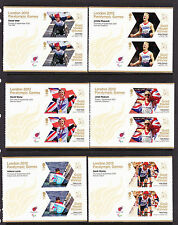 2012 PARALYMPICS COMPLETE SET OF 34 SHEETLETS SG 3372a-3405a.