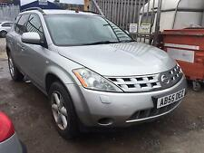 2005 Nissan Murano 3.5 V6 X-Tronic CVT MOT STARTS AND DRIVES SPARES OR REPAIRS