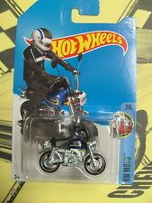 HOT WHEELS 2017 HW MOTO HONDA MONKEY Z50 #2/5 BLUE 11 avail