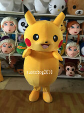 Heat lovely Pikachu (pokemon) mascot costume dress up adult size