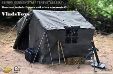 Toys City 1/6 accessory WWII German Staff Tent Stabszelt *Not Life Size* USA