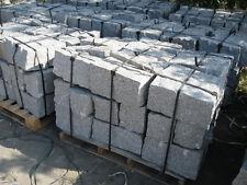 Granit Mauersteine Trockenmauer Granitsteine 20x20x40 cm, grau und graurot