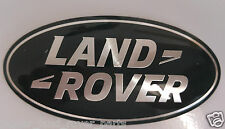 OEM RANGE ROVER SPORT,VOGUE,EVOQUE GRILL BADGE GREEN-SILVER SUPERCHARGED