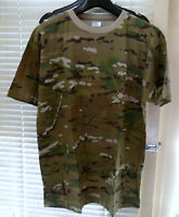 MILITARY ARMY T SHIRT BRITISH DESERT GREEN