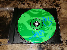 Jason Newsted Rare Hand Signed Advance Promo Echobrain CD Heavy Metal Metallica