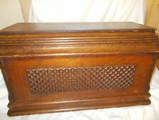 Vintage Old Antique Wooden Singer Full Size Cover for Treadle Sewing Machines