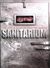Sanitarium DVD, Kate Copeland, Uri Geller, Terry Aaron, Jeremy Minns, James Eave