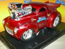 41 WILLYS COUPEO'BRANNON RACING EXCLUSIVE   1:18 SC. RARE MUSC. MACHINE