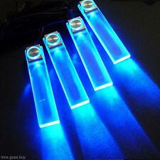 LED 12V 4 In1 Decorative Auto Car Truck Decor Interior Atmospher Lamp Light Blue