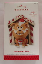 Hallmark 2013 Peekbuster Guard Dog Peppermint Bark Motion Activated Ornament