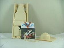 V-Hobel Slicer Set 6-tlg. Nr. 35004  Kunststoff, beige, von G+K