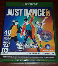 Just Dance 2017 (Microsoft Xbox One, 2016) NEW SEALED