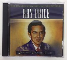 Ray Price Time Life CD Legendary Country Singers Country Music Hall Fame BONUS