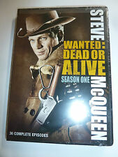 Wanted: Dead or Alive Season One DVD 4-Disc Set Steve McQueen TV western NEW!