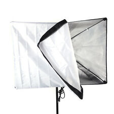 Photography Soft Box 50*70cm 20*27in E27 Flash Bulb Swivel Holder Socket US Plug