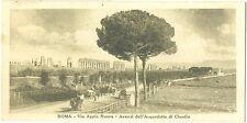 ROMA - VIA APPIA NUOVA - ACQUEDOTTO DI CLAUDIO - MINI CARTOLINA BABY CARD 1922