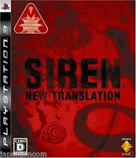 Used PS3  Siren: New Translation SONY PLAYSTATION 3 JAPAN JAPANESE IMPORT