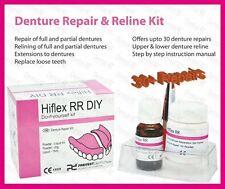 Emergency Dental Denture Repair, Hard Permanent Reline Kit for upto 30 + Repairs