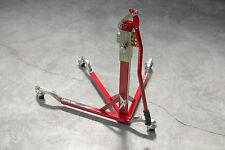BURSIG Motorcycle Original Center-Lift Stand Paddock Track Garage Red Ducati Etc