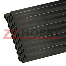 5PCS 3mmOD X2mmID x500mm Carbon Fiber Square/Round Tube