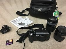 Olympus EVOLT E-300 DSLR Professional Camera - (Kit w/ 14-45mm & 40-150mm Lens)