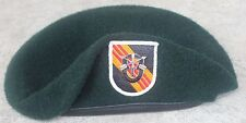 Authentic New US Army 5th Special Forces Group Green Beret, US Government Issue