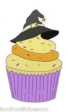 Halloween Cupcakes 8 Machine Embroidery Designs on multi-formatted CD 5 sizes