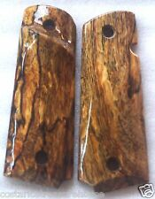 1911 TARGET GRIPS 4 FULL SIZE COLT & Springfield Right-Hand SPALTED MANGO A-5