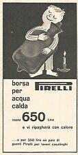 W8720 Borsa per acqua calda PIRELLI - Pubblicità del 1958 - Vintage advertising