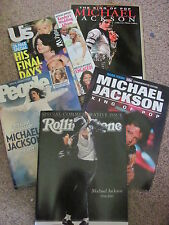 MICHAEL JACKSON COLLECTOR MAGAZINES (lot of 5)