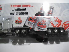 Werbetruck Cab Cola & Beer I never more ... without my Dragon Krombacher