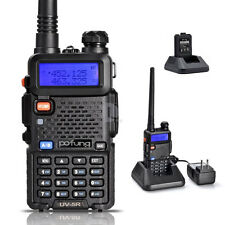 Pofung UV-5R Dual band UHF+VHF FM Ham Two-way Radio Walkie Talkie Transceiver