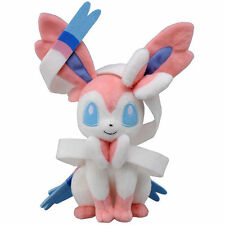 Kids Anime Pocket Monster Sylveon Stuffed Pikachu Doll Pokemon White Plush Toys