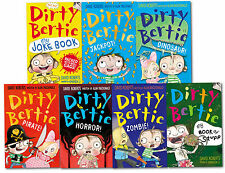 Dirty Bertie series Collection David Roberts 7 Books Set NEW Private, Horror..
