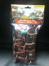 AMERICAN REVOLUTIONARY WAR CANNON MORTAR ACTION FIGURE SET NEW