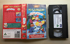 NICKELODEON - HEY ARNOLD! - ARNOLD'S CHRISTMAS - VHS VIDEO