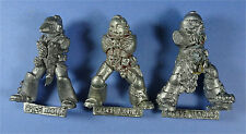 CITADEL - Space Marines - 3 x Metal Bodies - 1990s - Warhammer 40K Army