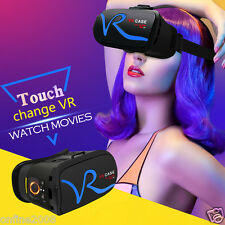 3D VR BOX VR Headset Virtual Reality Google Cardboard Glasses For iPhone 7 Plus