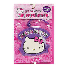 Sanrio Hello Kitty Paper Car Air Freshener : Grape