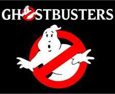 "Ghostbusters Cartoon Car Bumper Sticker Decal 5"" x 4"""