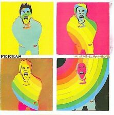 Aliens & Rainbows by Ferras (CD, Apr-2008, Capitol)