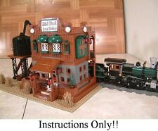 GET 100+ LEGO  INSTRUCTIONS like WILD WEST TRAIN STATION- 10020 Santa Fe Chief