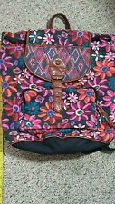Hippie Back Pack/Bag Purse Multicolor