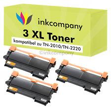 3 x XXL tóner cartucho nuevo para Brother mfc7360n mfc7460dn mfc7860dw tn2220