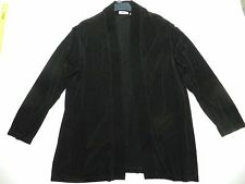 WOMENS black travelers JACKET BLAZER = CHICO'S = SIZE 3 = cs28