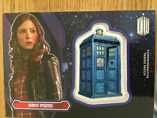 Topps Doctor Who 2015 Purple Tardis Patch Card Amy Pond 99/99