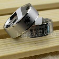 1pcs Anime Fairy Tail Lucy Rings Cosplay Natsu Silver ring free shipping