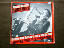 ANDRÉ MOSS 7 inch Single ROCK AND ROLL PARTY auf Polydor (1982)